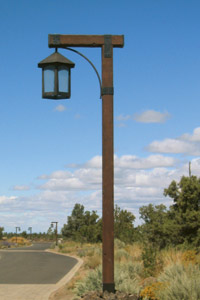 custom design and manufacture wood light poles. Black Bedroom Furniture Sets. Home Design Ideas